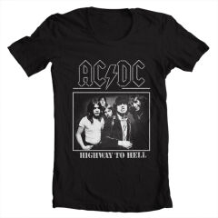 Tricou ACDC highway to hell
