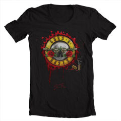Tricou Guns n Roses logo new