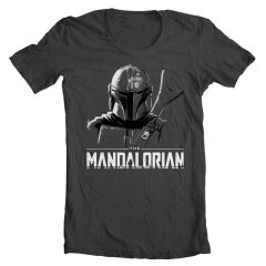 Tricou The Mandalorian Mando Sketch