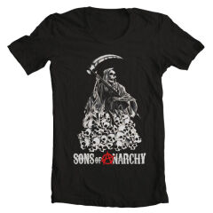 Tricou Sons Of Anarchy Skulls