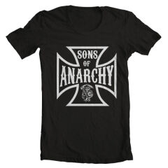 Tricou Sons Of Anarchy Maltese Cross