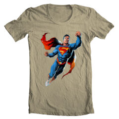 Tricou Flying Superman