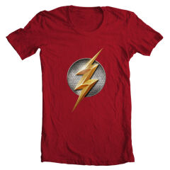 Tricou Justice League Flash Logo