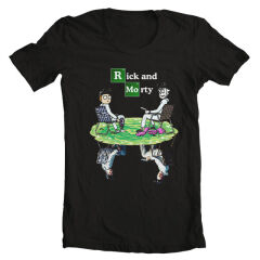 Tricou Rick And Morty Breaking Bad