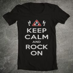 Tricou Keep Calm And Rock On
