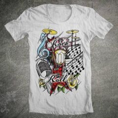 Tricou Rock N'roll Tattoo
