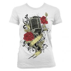 Tricou Music Roses