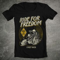 Tricou Ride For Freedom
