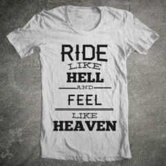 Tricou Ride Heaven