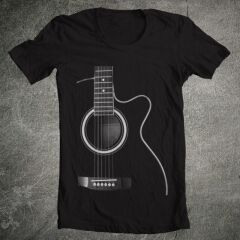 Tricou Secret Guitar