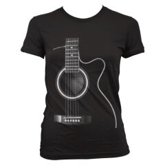 TRICOU Secret Guitar Femei