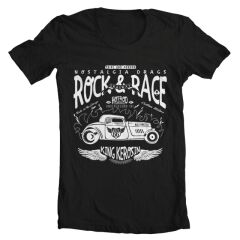 Tricou Hotrod Rock And Race