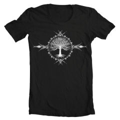 Tricou Geometric Tree Of Life