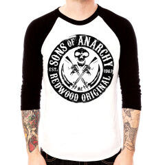 Bluza raglan Sons of Anarchy