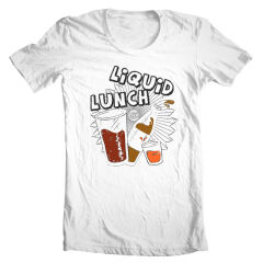 Tricou Liquid Lunch