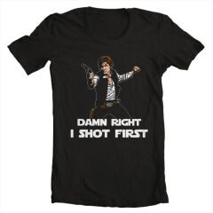 Tricou Han Shot First