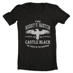 Tricou Game Of Thrones Night's Watch