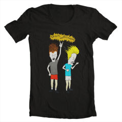Tricou Beavis And Butthead Rock