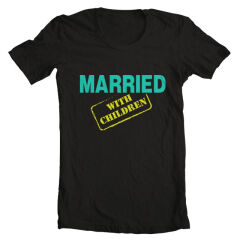 Tricou Married With Children Logo