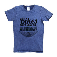 Tricou Denim Bikers Territory