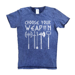 Tricou Denim Choose Your Weapon