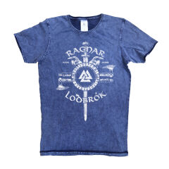 Tricou Denim Vikings Ragnar