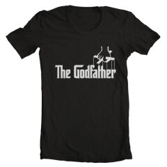 Tricou The Godfather Logo