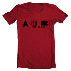 Tricou Star Trek Red Shirt