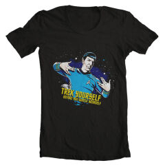 Tricou Star Trek Spock Trek Yourself