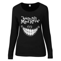 Bluza WE'RE ALL MAD HERE GRIN