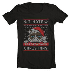 Tricou I Hate Christmas