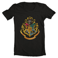 TRICOU Harry Potter Hogwarts Crest