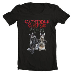 Tricou Catnibble Corpse