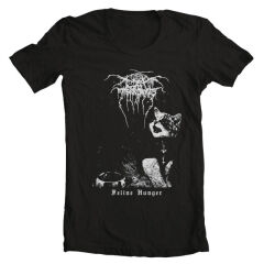 Tricou Cat Throne Feline Hunger