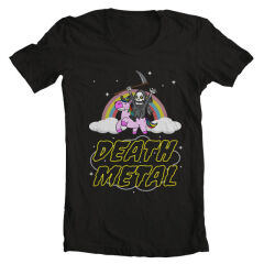 Tricou Death Metal Unicorn