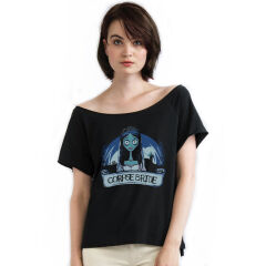 Tricou Oversized Corpse Bride Emily