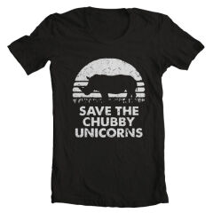 Tricou Save The Chubby Unicorns