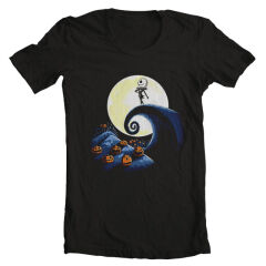 Tricou Nightmare Before Christmas