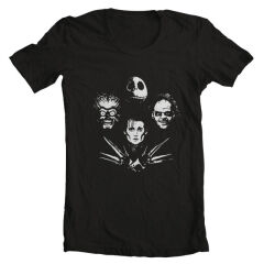 Tricou Tim Burton's Bohemian Monsters