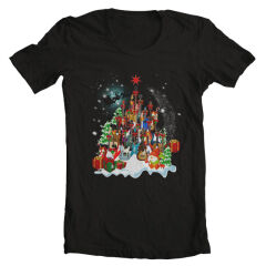 Tricou Xmas Guitars