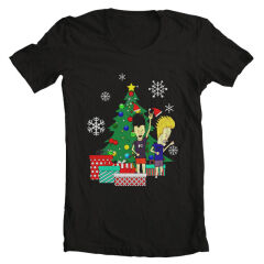 Tricou Xmas Beavis And Butthead
